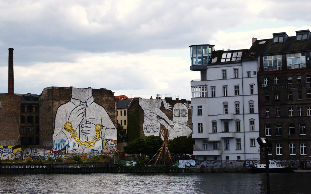 Graffities in Kreuzberg